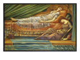 The Sleeping Princess, C.1886-88 Giclee Print by Edward Burne-Jones