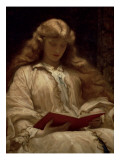 The Maid with the Golden Hair, C.1895 Premium Giclee Print by Frederick Leighton
