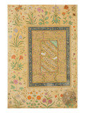 Calligraphy by the Iranian Master Ali Al-Mashhadi Giclee Print by  Mughal School