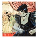 Princess Petal and the Green Page, 1958 Giclee Print by Jesus Blasco