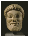 Head of Dionysus , Attica , C.480-460 Bc Giclee Print by  Greek