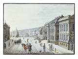 View of the Royal Palace, Berlin Giclee Print by F.A. Calau