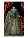 Portrait of Elisabeth of France Giclee Print by Frans Pourbus II