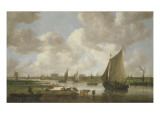 A View of Leiden from the North East Giclee Print by Jan Josephsz. Van Goyen