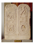 Relief with the Cartouche of Amenophis Iv Giclee Print by Egyptian 18th Dynasty