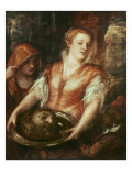 Salome with the Head of John the Baptist Giclee Print by  Titian (Tiziano Vecelli)