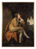 Edwin, from &#39;Minstrel&#39; by Dr. Beattie Giclee Print by Joseph Wright of Derby