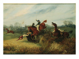 An Incident in the Lucas Winter Meeting Giclee Print by Henry Thomas Alken