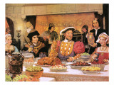 Henry Viii with Sir Thomas More on His Right Giclee Print by  English School