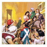 Paris at the Time of the French Revolution Giclee Print by Mcbride