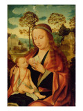 Mary with the Christ Child, Early 16th Century Giclee Print by  Dutch School