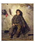 A Chimney Sweep from Savoie, 1832 Giclee Print by Auguste De Chatillon