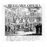 The Beggar's Opera Burlesqued, 1728 Giclee Print by William Hogarth