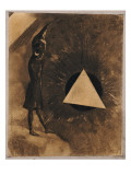 Souci D'Absolu.Philosophe, 1881 Giclee Print by Odilon Redon