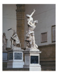 The Rape of the Sabine Woman, 1574-82 Giclee Print by  Giambologna