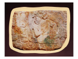 Pectoral of the King and a Courtier from Tikal Giclee Print by  Mayan