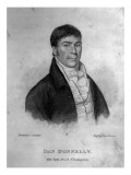 Dan Donnelly, Engraved by Percy Roberts Giclee Print by George Sharples