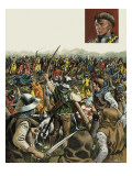 Battle of Agincourt, 25 October 1415 Giclee Print by Mike White