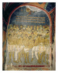 The Forty Martyrs of Sebaste Giclee Print by  Byzantine School