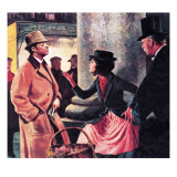 Professor Higgins and Eliza Doolittle Giclee Print by Ralph Bruce