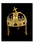The Holy Crown of Hungary, 11th-12th Century Giclee Print by Byzantine