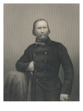 Giuseppe Garibaldi, Engraved by D.J Pound Giclee Print by  Italian Photographer