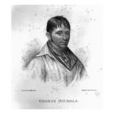 George Nichols, Engraved by Percy Roberts Giclee Print by George Sharples