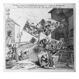 The Battle of the Pictures, 1745 Giclee Print by William Hogarth