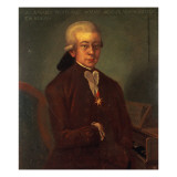Portrait of Wolfgang Amadeus Mozart Giclee Print by Austrian School 