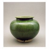 Chinese Jar, Yueh Ware, Six Dynasties Giclee Print by  Chinese School