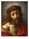 Christ as the Man of Sorrows Giclée-tryk af Carlo Dolci