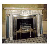 Fireplace from Syon House, Middlesex, C.1760 Giclee Print by Robert Adam