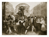 Daniel Defoe in the Pillory, 31st July 1703 Giclee Print by Eyre Crowe