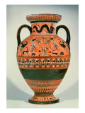 Black Figure Vase known as the Northampton Vase Giclee Print by  Greek