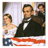 The Assassination of Abraham Lincoln Giclee Print by John Keay