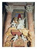 Monument to Maria Clementina Sobieska Giclee Print by Filippo Barigioni