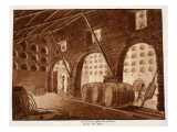 Columbarium of the Freedmen of Augustus, 1833 Giclee Print by Agostino Tofanelli