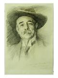 Portrait of Ramacho Ortigao, 1903 Giclee Print by John Singer Sargent