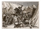 Robert of Normandy Rallying the Crusaders Giclee Print by Edouard Zier