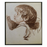 Head of a Boy in Profile to the Ledt Giclee Print by Jean-Baptiste Greuze