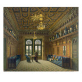 Design for the Grand Reception Room, 1837 Giclee Print by Karl Ludwig Wilhelm Zanth