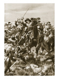 Battle of Aughrim, July 12th 1691 Giclee Print by William Barnes Wollen