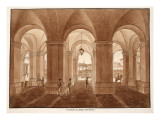 Vestibule of the Palazzo Barberini, 1833 Giclee Print by Agostino Tofanelli