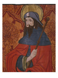 St. James the Great, Detail, Panel Giclee Print by  Spanish School