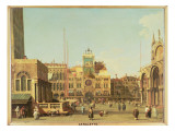 The Piazza Di San Marco, Venice Giclee Print by Canaletto