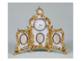 Faberge Louis Xv Style Desk Clock Giclee Print