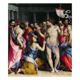 The Incredulity of St. Thomas, C.1547 Giclee Print by Francesco De Rossi Salviati Cecchino