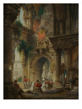 The Convent of Palermo, C.1850 Giclee Print by Carlo Ferrario