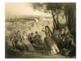 Garden Near Tiflis, Georgia, Plate 27 Giclee Print by Grigori Grigorevich Gagarin