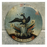 Shield of a Prussian Officer, 1764 Giclée-tryk af German School